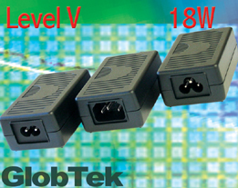 Green Power Supplies meet Efficiency Level V Requirements 18W