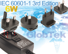 Medical Power Supply IEC60601-1 3rd Edition Approved 6W